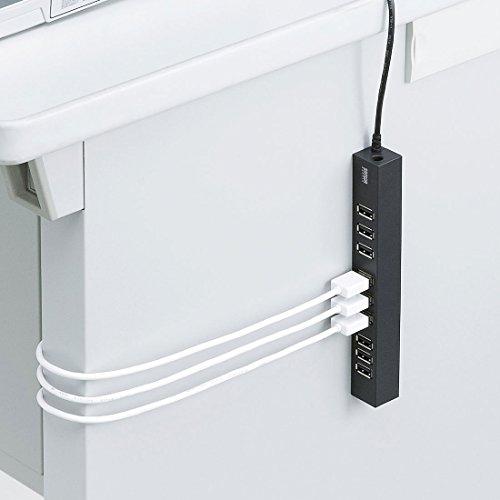 サンワサプライ『USB2.0ハブ10ポート(USB-2H1001BK)』