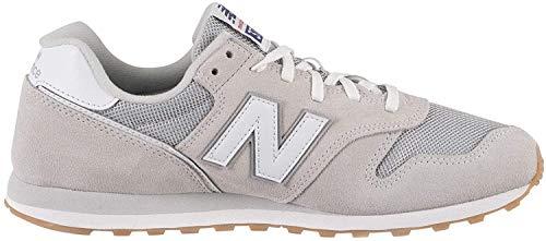 New Balance 373v2, Sneaker Uomo, Grigio (Grey/White Dc2), 45 EU