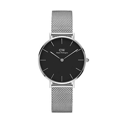Reloj de pulsera para hombre Townsman de Fossil, de cuarzo analógico, talla única, negro, plata