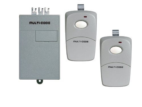 Linear MCS2022 Multi Double Garage Door Radio Controls with Receiver and 2 Transmitters