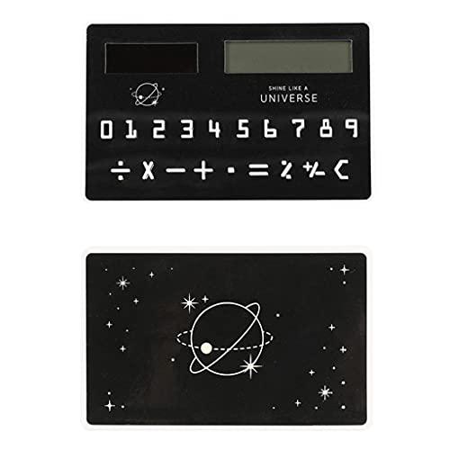 BENO Mini Calculadora Portátil De 8 Dígitos del Estudiante De La Oficina De La Escuela Suministra El Tamaño del Bolsillo para El Regalo (Modelo Solar) calculadora portatil (Color : G)
