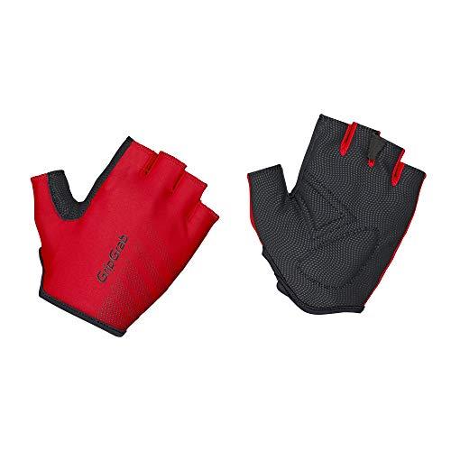 GripGrab Ride Fietshandschoenen voor beginners, korte vingers, gevoerd, vingerloze fietshandschoenen, dames, heren