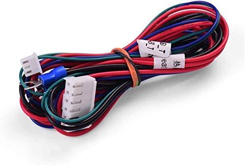 No logo 18AWG Actualización De Cable Calefactado Cama Longitud del Cable 90 Cm / 35,4 Pulgadas Repuestos De Reparación (Size : 18AWG)