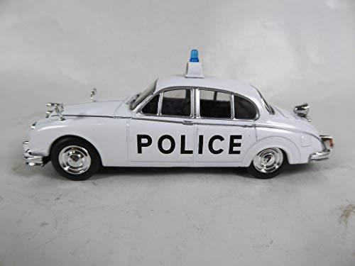 OPO 10 - Jaguar MK II 1/43 Weltpolizeiauto-Sammlung - Großbritannien (PM4)