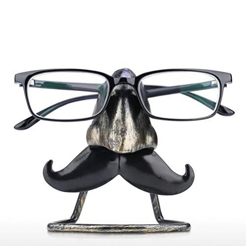 WINOMO Brillenhalter Displayständer Kreative Schnurrbart Brillenhalter Brillenhalter Bart Nase Dekorative Brillenständer