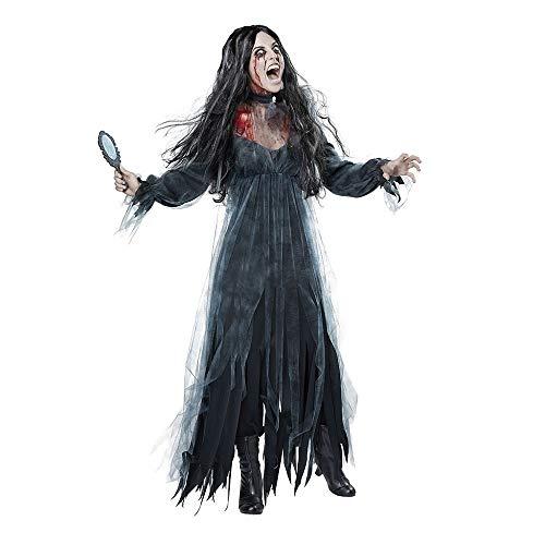 Mujer Vestidos Halloween, Creativo Moda Manga Vestido De Fiesta Cosplay Disfraz De...