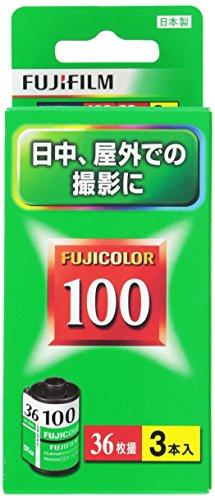 FUJIFILM カラーネガフイルム フジカラー 100135 FUJICOLOR 100-R 36EX 3SB