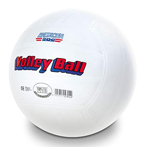 Mondo Toys - Pallone da Beach Volley AMERICAN VOLLEY BALL - pallavolo bambino / bambina - Colore bianco - 02304