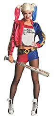 Rubie's Official DC Suicide Squad ladies Harley Quinn hard baseball bat inflatable Costume accessory to complete Harley Quinn's look Costume and wig sold separately