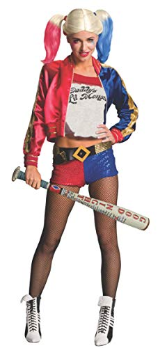 Rubie'S Costume Co. Halloween DC Suicide Squad Harley Quinn Inflatable Prop Bat, White Red, 23