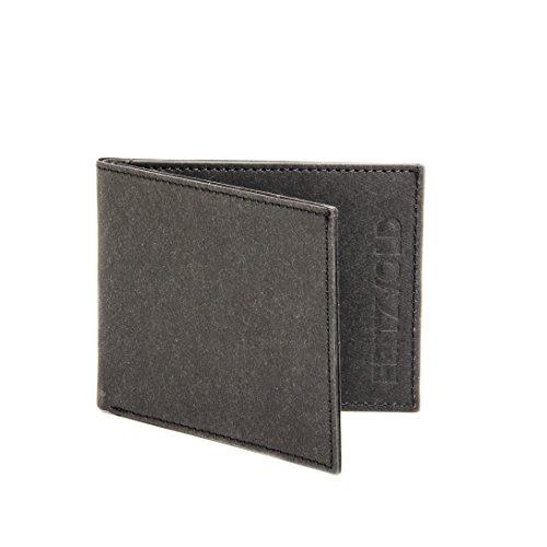 Kleiner dünner Geldbeutel Herren von FRITZVOLD - Kleine Geldbörse, Slim Wallet, extrem flaches Portmonee in schwarz für Damen und Herren