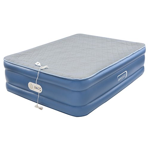 AeroBed Air Mattress with Built in Pump | Air Bed with Quilted Foam Topper