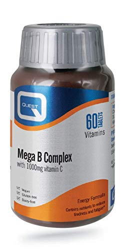 Quest Mega B Complex - 60 Tablets