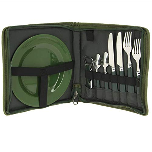 NGT Cutlery Set for fishing or camping