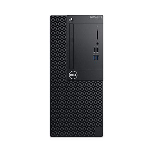 Dell Optiplex 3070 Komplett-PC, Schwarz, Windows 10 Pro 64-bit