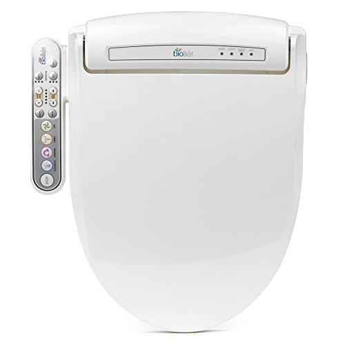 bioBidet BB-800 Prestige Elongated Bidet Toilet Seat, White