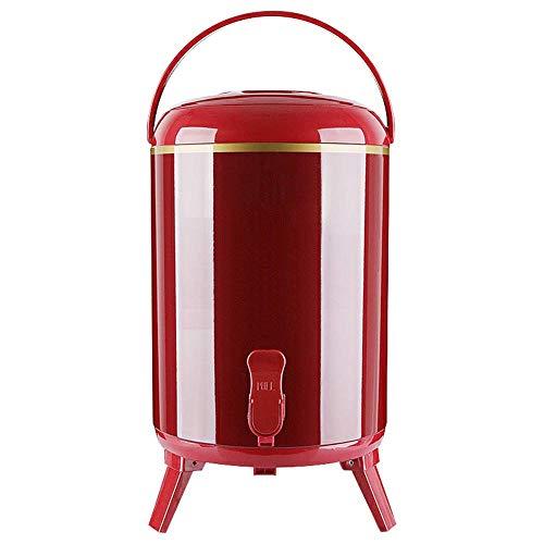 Dispensador de bebidas de agua caliente con aislamiento comercial, portátil, urna de...