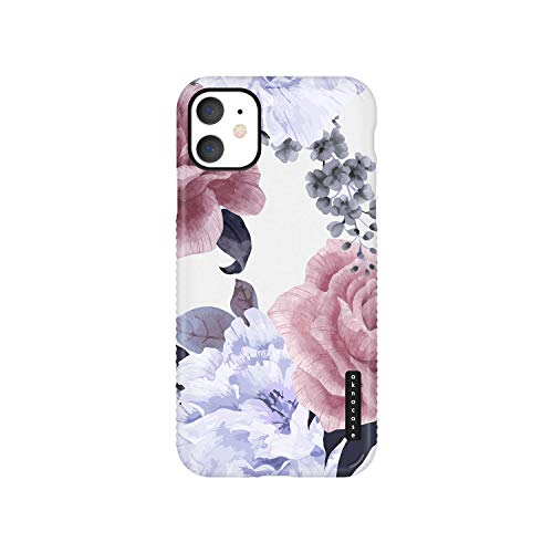 iPhone 11 Case Vintage Floral, Akna GripTight Series High Impact Silicon Cover with Ultra Full HD Graphics for iPhone 11 (Graphic 102112-U.S)
