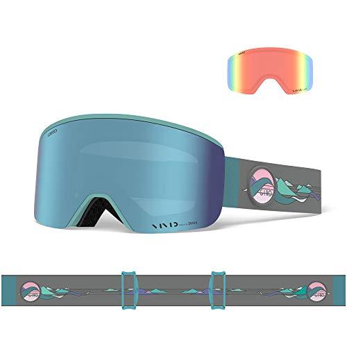 Giro Snow Damen Ella Skibrille, Hannah Eddy Vivid royal/Vivid Infrared, Einheitsgröße
