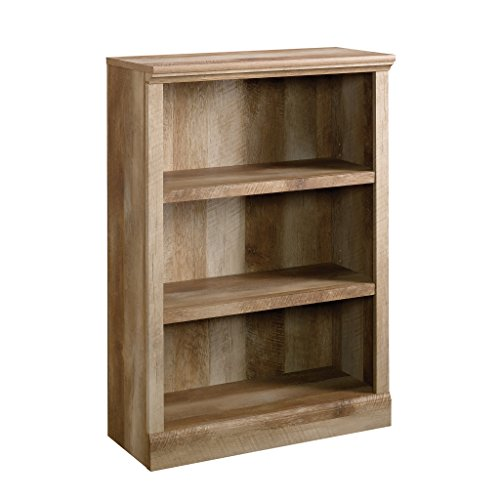Sauder East Canyon 3-Shelf Bookcase, Craftsman Oak finish