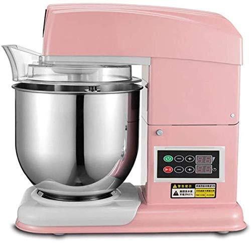 LCFF Sbattitore Elettrico Stand gastronomico Elettrico Mixer 1800W con 7L Ciotola in Acciaio Inox for la Cucina Torta di Cottura Mini Uovo Crema Alimentari Beater (Color : Pink, Size : Timing)