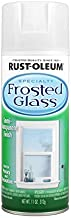 Rust-Oleum 1903830 Frosted Glass Spray Paint, 11 oz, Frosted Glass