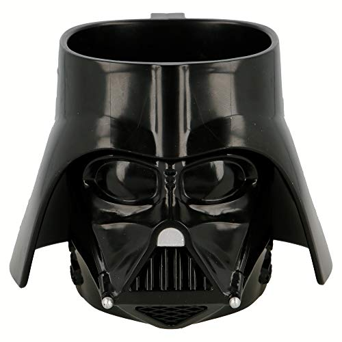 Elemed 82487 3D PS Becher Darth Vader (Star Wars) geformt, mehrfarbig