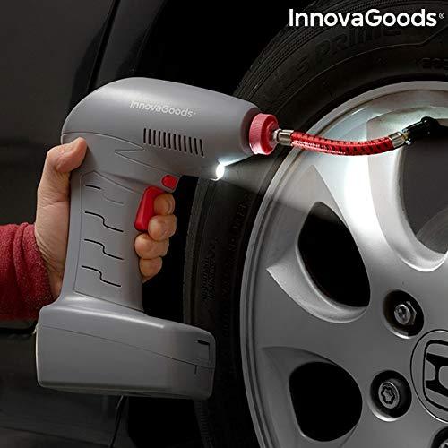InnovaGoods IG815783 Compresor de Aire Portátil con LED Airpro