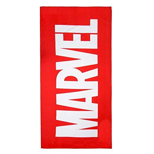 CERDÁ LIFE'S LITTLE MOMENTS 2200003991 Toalla Polyester Marvel, Rojo, 70x140cm