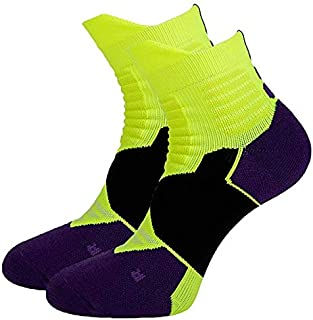Laxuri S020 Men and Women Cushioned Anti Compression Towel Bottom Breathable Basketball Socks