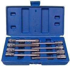 US Pro Juego de llaves de vaso de impacto Torx de 1//2 pulgadas B2087 10 piezas