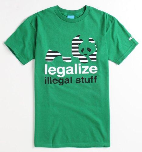 Enjoi Legalize SS - Maglietta da uomo