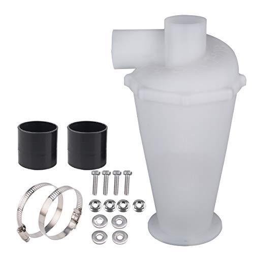Filtre Extraction Pour Aspirateur, Cyclone séparateur, Cyclone Poudre Poussière Collectionneurs (Blanc)