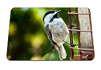 26cmx21cm マウスパッド (鳥はしごスズメ小) パターンカスタムの マウスパッド