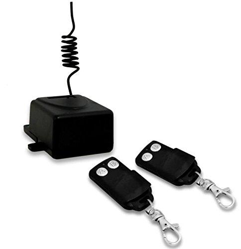 G.B.S. Elettronica 2171 RF Wireless Pulsanti Nero telecomando