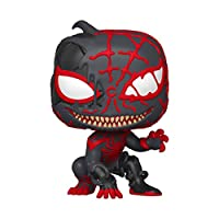 Funko - Figurine Marvel - Venomized Miles Morales Pop 10cm - 0889698464598