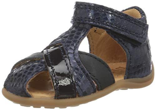 Bisgaard Mädchen Cheri Geschlossene Sandalen, Blau (Marine 1408), 24 EU