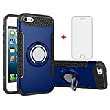 Phone Case for Apple iPhone 5S 5 SE 5SE with Tempered Glass Screen