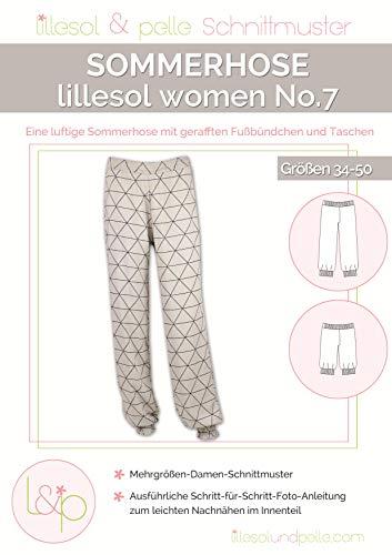 Lillesol & Pelle Schnittmuster women No7 Sommerhose Papierschnittmuster
