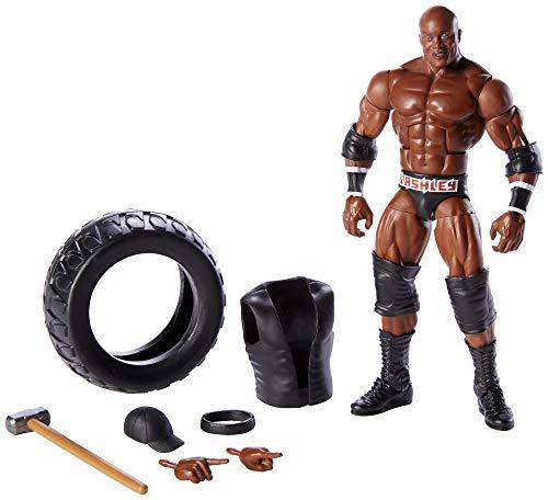 WWE - Elite Figura de acción luchador Bobby Lashley con