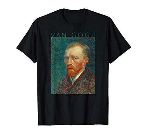 Autorretrato Van Gogh Regalos de Artistas Mujeres Hombres #4 Camiseta