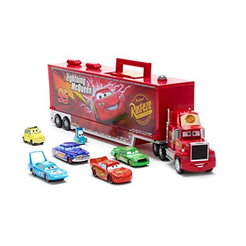 DS Camion Mack A Frizione LUCI E Suoni con 6 MACCHININE Cars Disney - Disney Store
