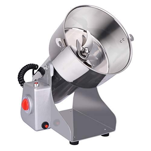 CCHM 700g Getreide Gewürze Hebals Getreide Kaffee Trockenfutter Mühle Mühle Mahlmaschine Gristmill Home Crusher,Silber