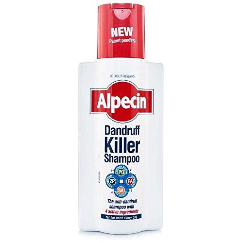 Alpecin Schuppen Killer Shampoo - Das Anti-Schuppen-Shampoo mit den 4 Wirkstoffen Inhalt: 250ml Haarshampoo für täglichen Anwendung Haarpflege Shampoo.