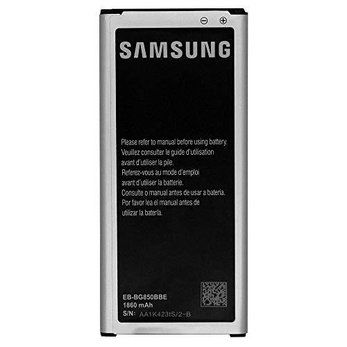 Batteria Originale Samsung Modello EB-BG850BBE - 1860 mAh con Carica Rapida 2.0 Per Samsung Galaxy Alpha / G530 / G850 - Senza Scatola
