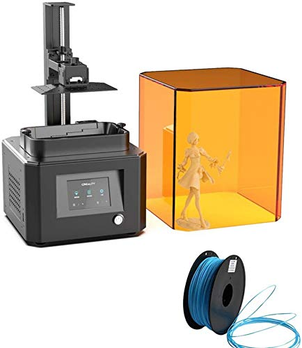 SAFGH Lcd 3d Printer, Photocuring Quick To Assemble DIY UV Resin 3D Printer Working Kit With Resume Printing Function Give 1 3d Filament As a Gift