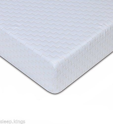 sleepkings 3ft Single Mattress ? 4? Economy Bed Mattress ? Budget Reflex Foam