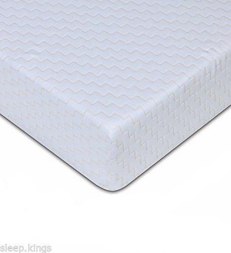 "sleepkings 3ft Single Mattress – 4"" Economy Bed Mattress – Budget Reflex Foam"