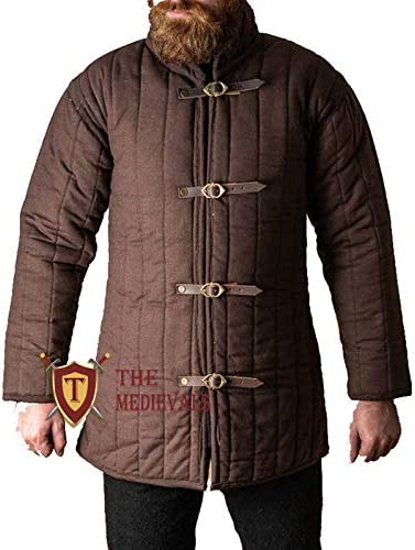 THE Max 90% OFF MEDIEVALS Medieval Thick Padded Gam Sleeves Length Half Full Super sale