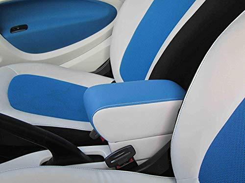 Filocar Design Bracciolo Per 453 ForTwo E ForFour (Ecopelle Nera)
